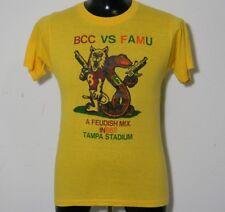 VTG '86 Rivals BCC Vs FAMU College Football Florida Classic Tampa Yellow Tshirt