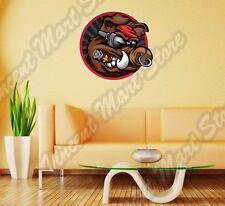 "Wild Boar Cool Pig Cigar Hunting Bacon Wall Sticker Room Interior Decor 22""X22"""