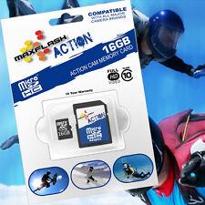 16GB Action microSD SDHC Speicher-Karte/-Card Class10/CL10 für GoPro Hero5