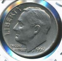 United States, 1969 Roosevelt Dime 10c - Choice Uncirculated