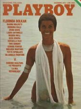 PLAYBOY EDIZ-ITALIANA DICEMBRE  1975-FLORINDA  BOLKAN- POSTER INTERNO