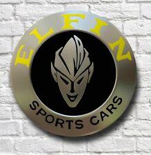 ELFIN SPORTS CARS 2FT GARAGE WALL SIGN PLAQUE WORKSHOP MAN CAVE AUTOMOBILIA MS8