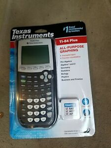 TEXAS INSTRUMENTS TI-84 PLUS GRAPHING CALCULATOR NEW IN SEALED PACKAGE