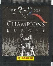 Pochette Panini Champions Of Europe 2005