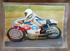 Carte postale moto Yamaha 350 RDLC Magny Cours BOURGEOIS