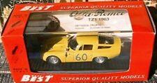 ALFA ROMEO TZ1 ZAGATO #60 TARGA FLORIO 1965 BEST MODELS # 9061 1/43 JAUNE YELLOW