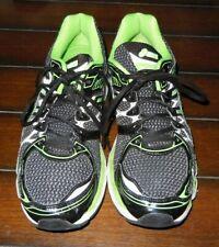 ASICS Men Gel-Nimbus 16 US 11 Running Shoes Lime Green Black w/ FluidRide T4B4N