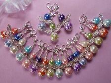 O20+) Schutzengel Gastgeschenk Hochzeit Perlen Anhänger Glücksbringer Engel