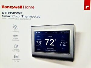 Honeywell HOME // RTH9585WF // Smart Color Thermostat w/Custom Color Background