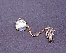 HUDSON RIVER DAY LINE Souvenir Lapel Collar Pin