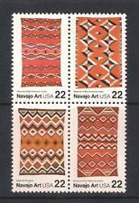 USA mint stamps - 1986 American Folk Art Navajo Blankets, MNH