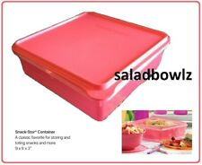 TUPPERWARE New COLD CUT KEEPER SNACK STOR SQUARE Container in Watermelon Store
