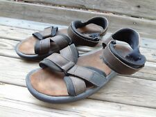 2a15dddd782 CLARKS ACTIVE AIR BROWN LEATHER SANDALS SHOES MENS SIZE 13 M-W Adjust