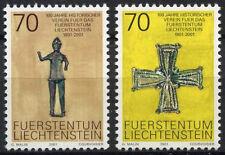LIECHTENSTEIN 2001 SG#1248-9 historique Association neuf sans charnière Set #D2039