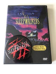 SLEEPWALKERS, Original Promotional Button, CLIVE BARKER, HORROR