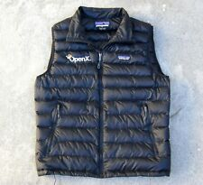 Patagonia Down Sweater VEST Men's M Black OpenX logo