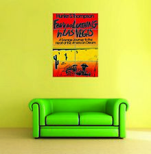 Fear And Loathing In Las Vegas Hunter Thompson Giant New Poster Art Print