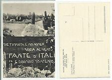 colle di sant elia cartolina d' epoca sacrario prima guerra mondiale 71016