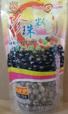 BOBA Black Tapioca Pearl Bubble  Ready in 5 Mins.Good for Milk Tea,Ice Coffee