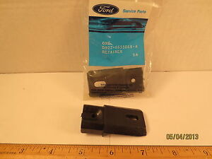 """ONE FORD 1979/1988 MUSTANG W/FOUR SEASONS ROOF RACK """"RETAINER"""" NOS FREE SHIPPING"""