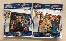 Disney Pixar Toy Story 4 (Lot Of 2) 48 Piece Puzzles Ages 5+ New In Sealed Bags