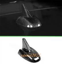 Real Carbon Fiber Roof Shark Fin Antenna Cover Trim For Maserati Levante 2016-19