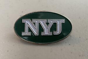 New York Jets NYJ Logo Pin
