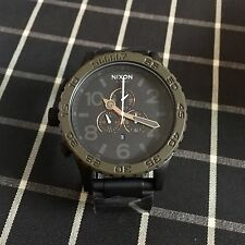Nixon 51-30 Chrono Black Dark Green Men's Wrist Watch