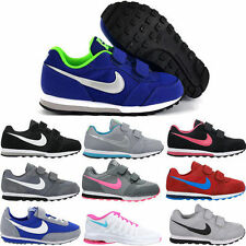 Nike Leather Upper Shoes for Boys Casual Trainers