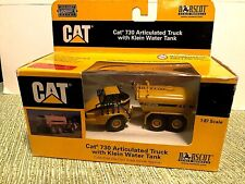 Norscot Cat 730 Articulated Truck with Klein water tank  Die-Cast  1:87 scale