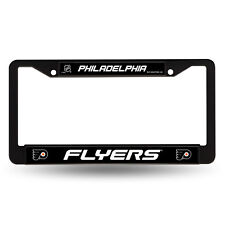 Philadelphia Flyers NHL Black Metal License Plate Frame