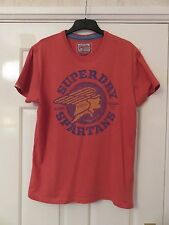 Superdry Vintage Black Label Spartiates University of aviation T-shirt Taille L