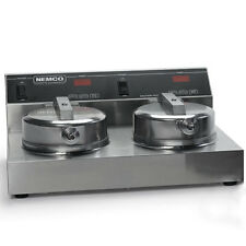 """Nemco 7030A-2 Waffle Cone Baker Iron W/ Two 7"""" Diameter Fixed Grids"""