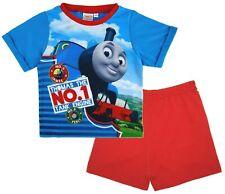 Boys Thomas the Tank Engine Pyjamas Toddler Shortie nightwear 12-18-24 2-3 3-4 Y