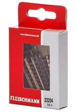 Fleischmann 22204 N Gerades Gleis 54,2 mm (12 Stück) ++ NEU & OVP ++