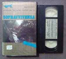 VHS COME APPRENDERE STRATEGIE,TECHICHE,MODELLI PER LA SOPRAVVIVENZA no dvd(VH63)