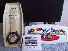 "Vintage 1994 Armitron Watch,  Looney Tunes, ""Taz"" Tasmanian Devil,New In Box,"