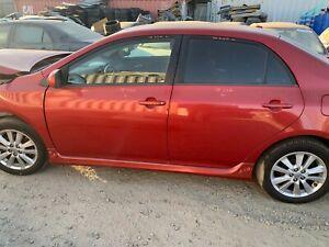 2009 2010 Toyota CorollaFront Left Side Driver Door OEM