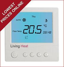Calefacción por suelo radiante Termostato Controlador para todos bajo Piso sistemas eléctricos