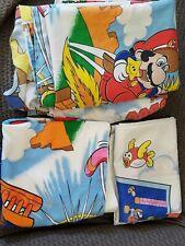 Super Mario Bros & Legend of Zelda twin bedding full set *READ DESCRIPTION*