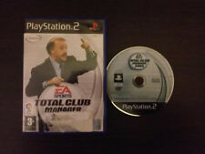 Total Club Manager 2004 Play Station 2 PS2 PAL ESPAÑOL