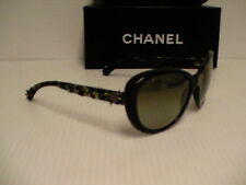 Authentic Chanel sunglasses 5241 c.1404/3M 56/17 cat eye green lenses