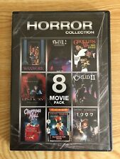 Horror Collection (2-Dvd) Waxwork / Chopping Mall / Slaughter High & more! Oop!