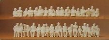 Figurines HO 1/87 Preiser 16349 - passagers assis a peindre