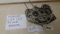 HONDA CBF 125 JC40E ENGINE RHS CRANKSHAFT CASING FUEL INJECTION