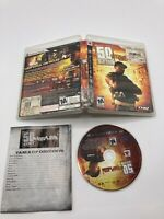 Sony PlayStation 3 PS3 CIB Complete Tested 50 Cent Blood on the Sand Ships Fast