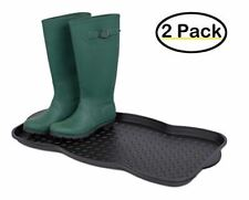 Internet's Best Multi-Purpose Boot & Shoe Tray - 2 Qty - 29.75 x 15 Round - Prot
