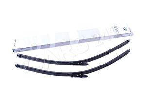 Genuine Set Of Wiper Blades BMW E60 E61 520d 520i 523i 523Li 525d 61612455442