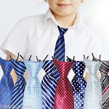 CRAVATTA BAMBINO Tante Fantasie Colori cravattino 2/8 anni blu rosso ecc D0481