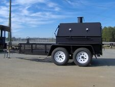 BBQ PIT SMOKER concession grill utility 5x12 trailer gas fryers NEW hog box 500